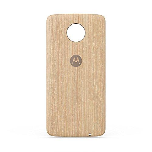 Motorola Washed Oak Moto Style Shell for Moto Z/Z2/Z3/Z4 (Motorola Shells Moto E)