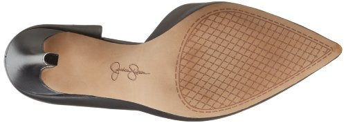 Jessica Simpson , Sandales pour femme 41 B(M) Black Alsina Leather