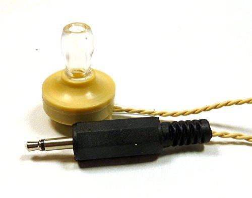 Philmore Crystal Radio Earphone, 3.5mm Plug, 7-Ft Cord, High Impedance 747
