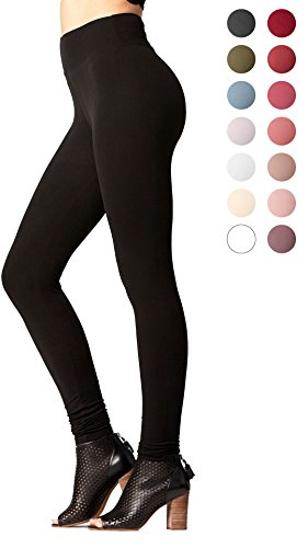 Conceited Yoga Waist Leggings (Yoga Waist Black, Small/Medium (0-12))