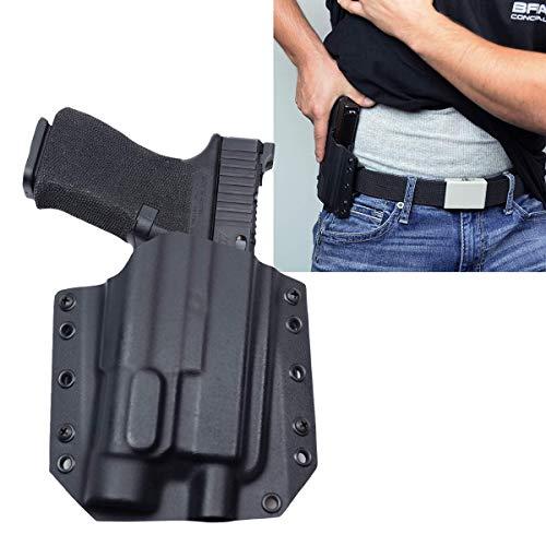 Bravo Concealment: Glock 19 23 32 TLR1-s OWB BCA Light Bearing Gun Holster