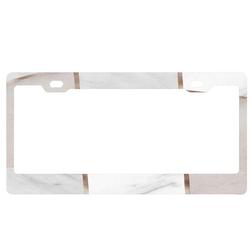 ASUIframeNJK License Plate Frame Glitter Waterproof License Plate Covers Cute Car Tag Frame