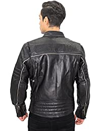 Mens Leather and Faux Leather Jackets | Amazon.com