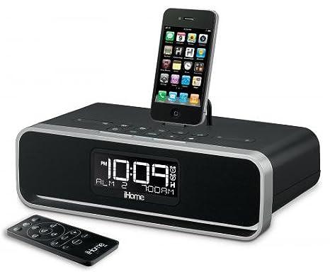 iHome iD91 Reloj Digital Negro - Radio (Reloj, Digital, FM, iPad,