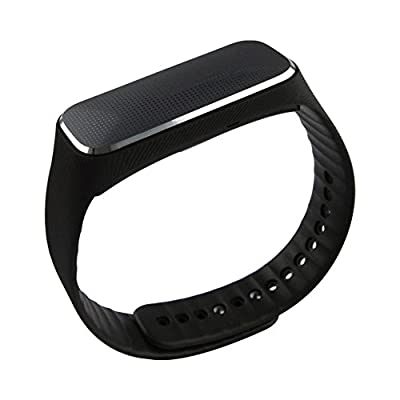 JiuChoi BW-1 Bluetooth Smart Heart Rate Bracelet Watch IP54 Sport Continuous Heart Rate,Blood Pressure,Fitness Step Tracker,Sleep,Fatigue State,Emotional Status Functions Supports Smartphone Android 4.3 IOS 7.0 or Above