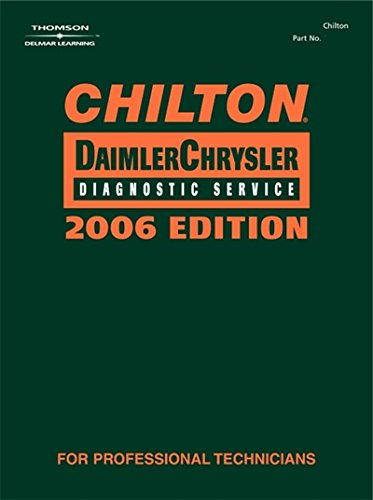 Used, Chilton 2006 DaimlerChrysler Diagnostic Service Manual for sale  Delivered anywhere in USA