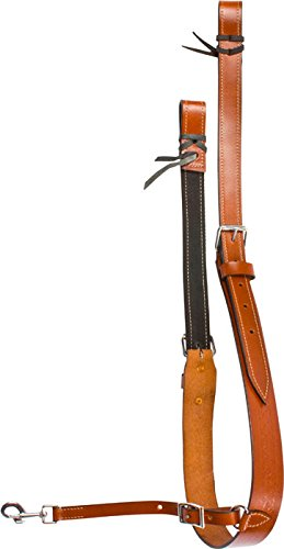 hand-carved-western-leather-medium-oil-brown-horse-tack-saddle-back-cinch-rear-cinch-flank-strap-hor