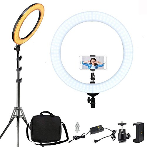 LED Ring Light with Stand, ZOMEi 18
