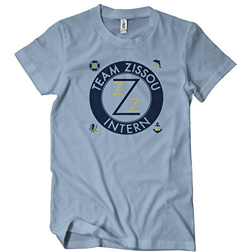 Life Aquatic Zissou Costume (Team Zissou Funny Mens T-Shirt Tee Life Murray Aquatic Halloween Costume)