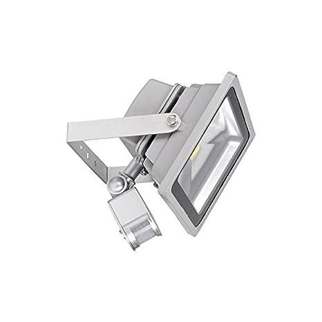 Proyector LED SuperOne 30 W [COB Bridgelux] con detector de movimiento Pow