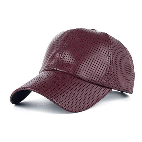 de béisbol Hombres PU B de sombrilla GLLH qin Agujero Casquillo Sombreros la Gorra la hat de D del los de qBqwaO8