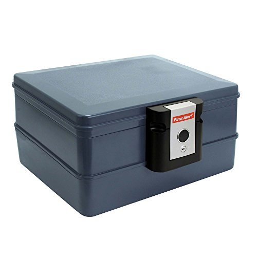 First Alert 2030F Fire and Water Safe, 0.39 Cubic Feet, Grey ()