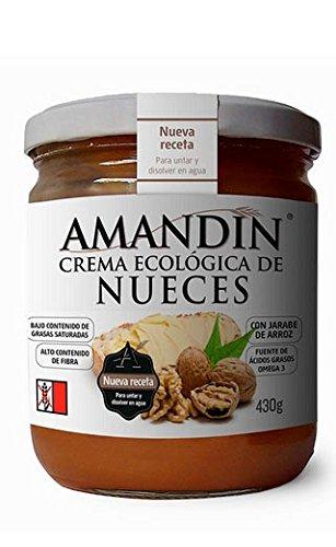Crema de nueces Ecológica AMANDIN (430 gr)