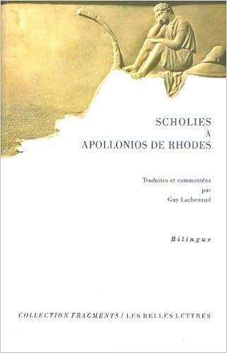 Lire Scholies à Apollonios de Rhodes pdf