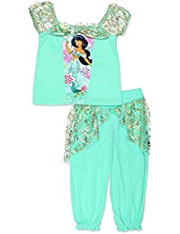 Little Girls' Princess Jasmine Pajamas, Sizes 2T-8