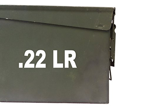 FGD .22 Lr Ammo Box Label Set (Decals) Two 4.5