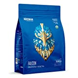 Falcon Protein Birdman, Proteina Vegetal (Vegana) en polvo Certificada Organica Sabor Vainila 1.8 kg