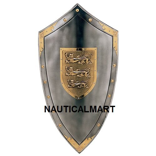 Nauticalmart Plate Armour Shield Richard the Lionheart (Lionheart Shield)