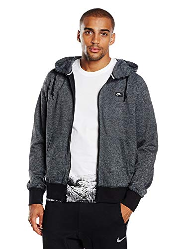 Men's AW77 French Terry Shoebox Full-Zip Hoodie