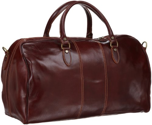 Floto Luggage Venezia Duffle, Vecchio Brown, One Size by Floto