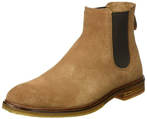 Clarks Herren Clarkdale Gobi Chelsea Boots Braun (tabak Suède)