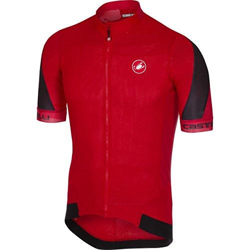 (Castelli Volata 2 Jersey - Men's Red/Black,)
