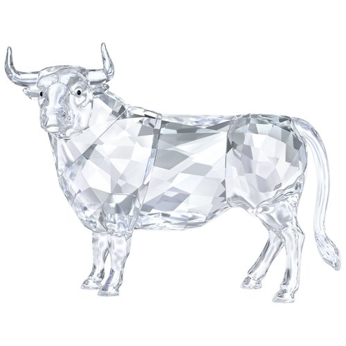 (Swarovski Crystal Bull Decoration Figurine Signed 5453406)