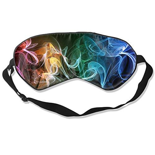 Oh-HiH 100% Silk Eye Mask Smoke Plexus Smog Sleeping Blindfold