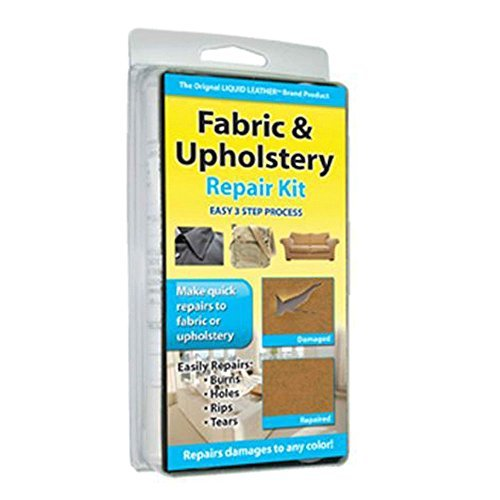 Fabric Upholstery Repair Kit Furniture Couch Luggage Vehicle Carpet Sofa Holes Must ()