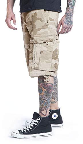 Shorts Sabbia Nero Pantaloncini Brandit Vintage aUZvxq8wn