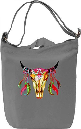 Color Voodoo Borsa Giornaliera Canvas Canvas Day Bag| 100% Premium Cotton Canvas| DTG Printing|