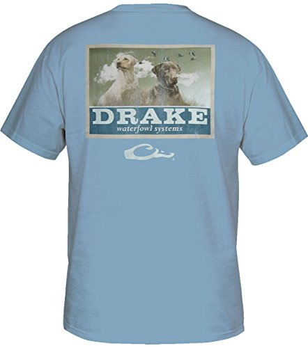 Drake Waterfowl Yellow Pocket T Shirt product image