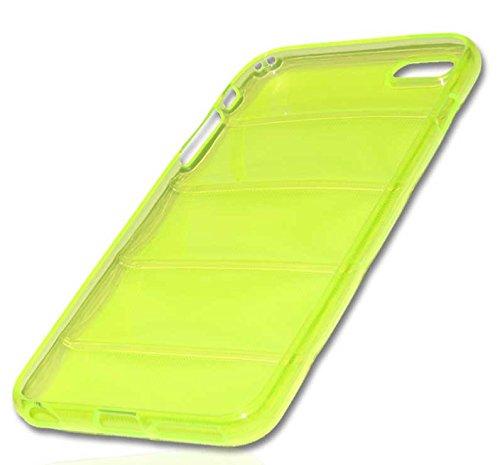 Silikon Case Handy Tasche Hülle für Apple iPhone 6 Plus / Schutzhülle Handytasche barell grün