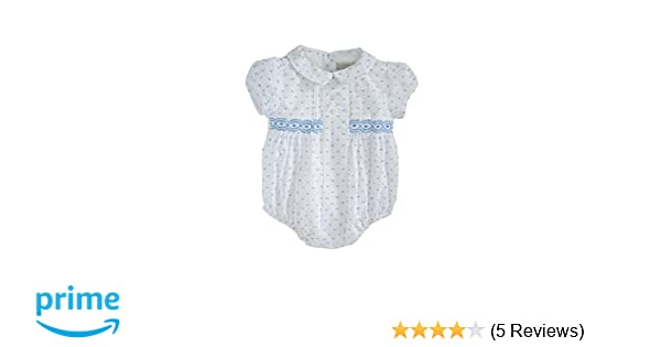 339e9199f6d7 Amazon.com  Phlona Baby Boy Smocked Bubble Bodysuit  Clothing