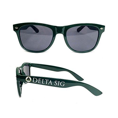 (Delta Sigma Phi Fraternity Sorority Sunglasses Greek Beach Sunny Day Delta Sig)