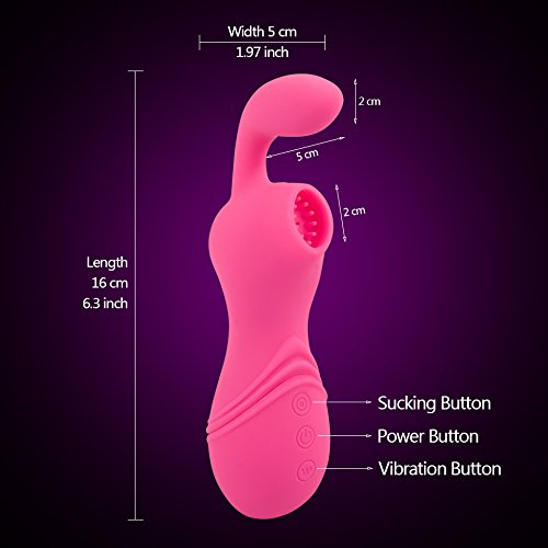 FANGMING Erotic Clitoris Stimulator Clit Sucker Vibrator Female Blowjob Oral Pussy Pump Adult Sex Toys for Woman Intimate Sex Products by FANGMING