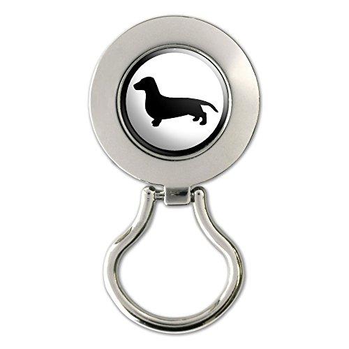 Dachshund - Weiner Dog Magnetic Metal Eyeglass Badge - Holder Eyeglass Dachshund