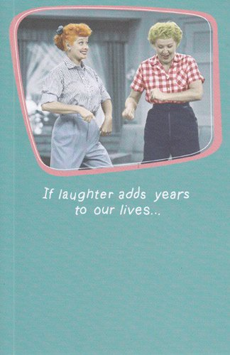 Image Unavailable Not Available For Color Greeting Card Birthday I Love Lucy