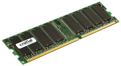 (Crucial 1GB DDR 333Mhz, PC2700, Unbuffered, Non-ECC, 184-Pin DIMM Desktop Memory Upgrade CT12864Z335)