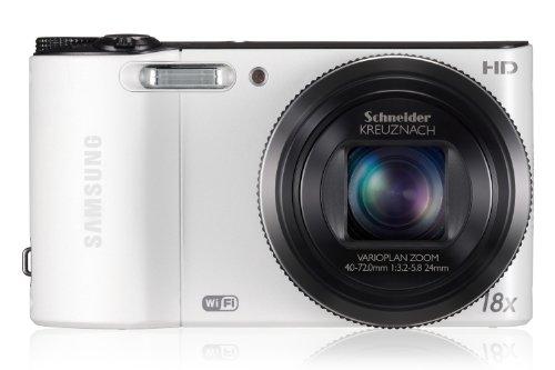 Camera Point Shoot Digital Film And (Samsung WB150F 14.2-megapixel Digital Camera - White)