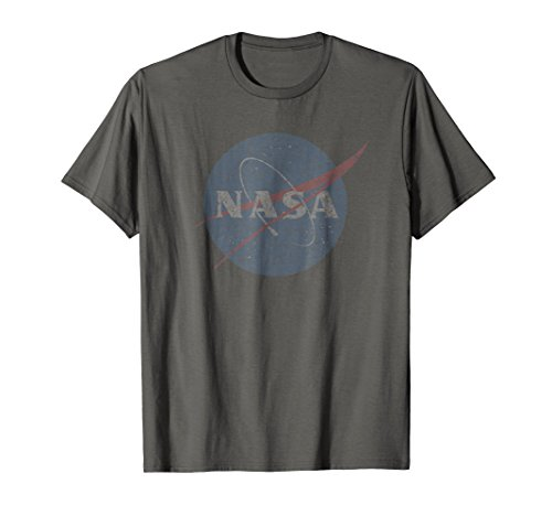 NASA t shirt womens men official logo distressed (Official Logo Tee)
