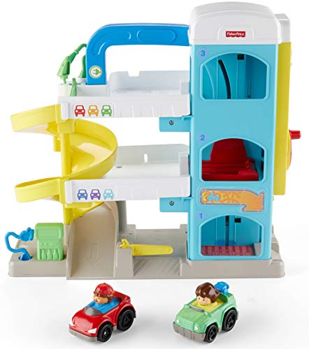 41t3WvMY3rL - Fisher-Price Little People the Helpful Neighbor's Garage