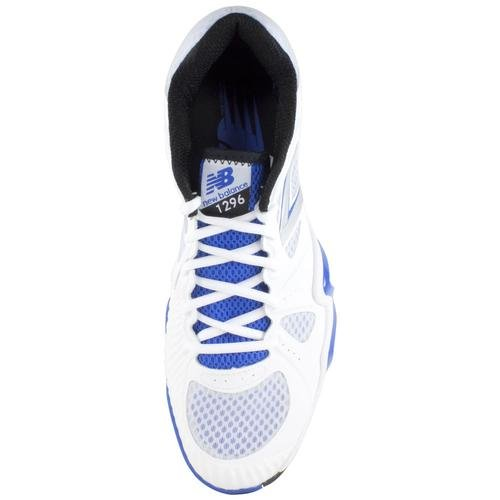 888098149623 - New Balance Men's MC1296 Stability Tennis Running Shoe,White/Blue,8 2E US carousel main 3