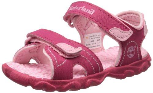Timberland Splashtown 2 Strap Sandal (Toddler/Little Kid/Big Kid),Pink,3 M US Little Kid