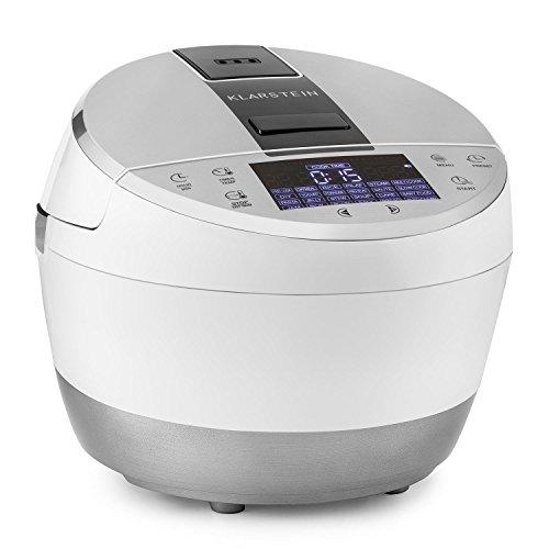 Klarstein Hotpot Robot de cocina multifunciones Multi Cooker 23 en 1 (950W potencia, 5L capacidad, control táctil, olla lenta, vapor,...