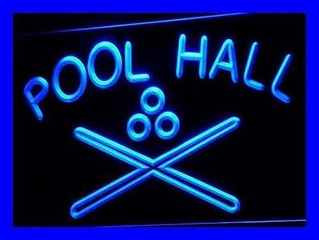 Jintora - Neon Sign - señal de neón - Pool Hall - Salón de Billar ...