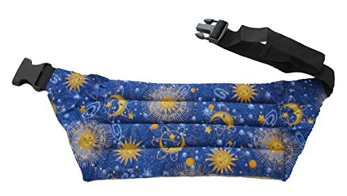 Nature's Approach Aromatherapy Belted Lumbar Wrap Herbal Pack, Celestial Indigo ()