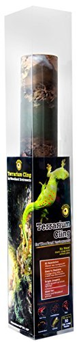 Galapagos (05400) Terrarium Background Clings, 11.125 x 36, Woodland by Super Moss