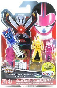Power Rangers Key Pack Time Force Set C Blue Pink Yellow