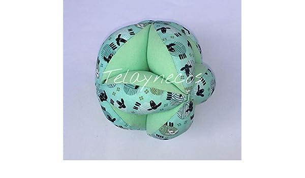 Pelota Montessori ovejas verde: Amazon.es: Handmade